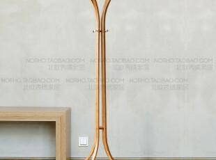 北欧表情/出口日本/muji风格/竹子环保设计家具/原津素住衣帽架,挂钩,