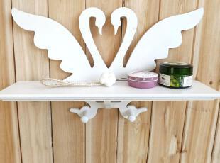 高档PU漆j健康家居壁架情侣鹅创意挂钩壁饰装饰隔板挂钩,挂钩,