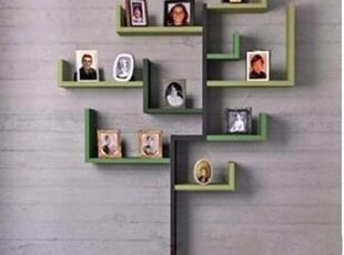 三和创意隔板 树形 书架  隔板 置物架  照片架 墙架 书架 可定制,收纳架,