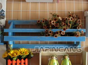 美式乡村风格家具 地中海风格家具 纯实木 实木搁物架【可定制】,收纳架,