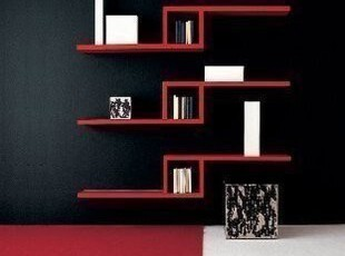 厂家直销 造型隔板 美观酒柜 创意搁板 壁挂架 餐厅装饰架 书架L,收纳架,