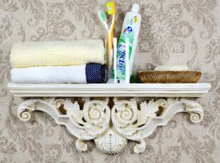 欧式创意复古置物架一字隔板树脂壁架装饰架壁挂架置物隔板,收纳架,
