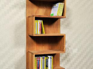 厂家出口欧洲实木环保家具/橡木柞木/弓形CD置物架1-040,收纳架,