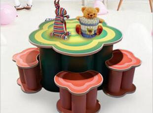 欧式家具 创意设计蘑菇隔板书架 可拆装格架书架 儿童置物架,收纳架,