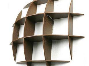 九宫格木质墙上置物架储物架 宜家井字储物架托板壁柜隔板搁板,收纳架,