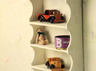耐品家居ZAKKA 日式 手工实木 壁挂架 搁架 壁柜杂物小柜 外贸 出,收纳架,