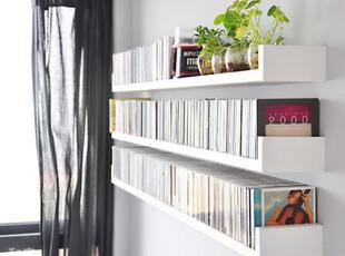 U型搁板U形隔板隔板简易墙上书架置物架置物板壁挂架2.5厘米厚,收纳架,