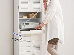 出口多斗柜实木家具带锁传真电器柜、文件柜、物品收纳柜,收纳柜,
