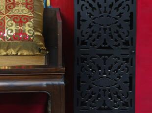 中式新古典风范,玲珑唱晚三层雕花落地柜,储物柜,收纳柜,