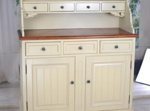 2012地中海田园美式乡村全实木家具 餐边柜储物柜,收纳柜,