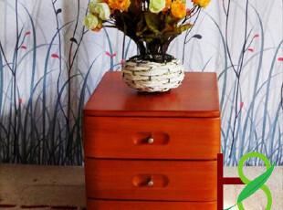 华森三斗储物归纳柜文件柜办公家具实木免组装/限量大促热卖HS008,收纳柜,