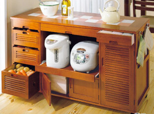 多功能大容量餐边柜 电器柜 蔬菜碗筷收纳柜,收纳柜,