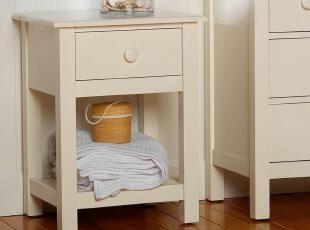 Pottery Barn实木床头柜定制松木环保家具 CP-KSKL-CZ-P03,收纳柜,