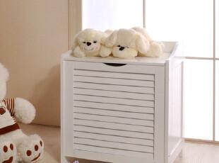 百松居欧式白色时尚百叶收纳柜 置物柜杂物柜 储物柜宜家现代促销,收纳柜,