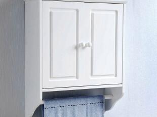 百松居双门毛巾挂柜 浴室柜壁柜卫生间储物柜收纳柜 宜家特价促销,收纳柜,