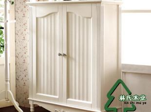 特价包物流林氏木业韩式家具 田园鞋柜 白色储物柜 韩式鞋柜KV126,收纳柜,
