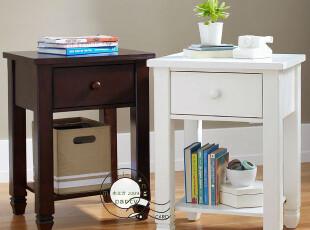 卧室 实木 家具 帕克 床头柜 美式 活泼 可爱 美克美家 m025,收纳柜,