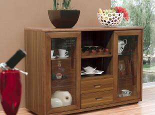 和购 北欧榆木家具 欧式餐边柜 实木备餐柜 橱柜 现代 简约 C301,收纳柜,