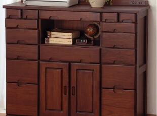 华森/多功能电话台/移动储物柜多斗柜实木家具/正品限量HS002,收纳柜,