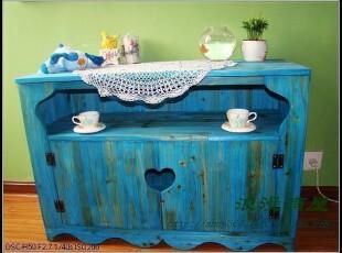 永远的地中海 液晶电视柜 地中海电视柜 视听柜 实木家具订制,收纳柜,