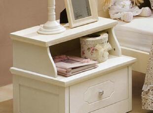 汉人居-韩式床头柜/白色床头柜/田园床头柜 HL6063,收纳柜,