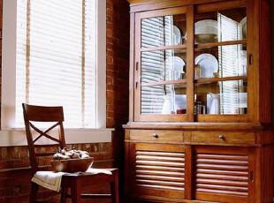 美克美家探戈美式乡村餐边柜定制实木家具定制 CP-MJTG-CG-P01,收纳柜,
