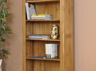 【木语者】欧洲热销欧式橡木家具全实木书柜子大书架,收纳柜,