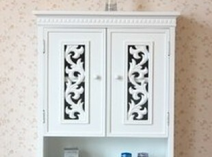 特价 韩式家具 韩式田园白色壁柜/壁挂/浴室柜/现代挂柜置物柜,收纳柜,