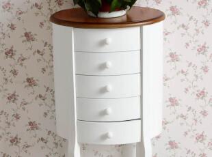 美式乡村 欧式家具 韩式田园床头柜 现代简约时尚收纳柜 斗柜特价,收纳柜,