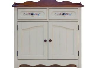 米勒实木玄关柜 储物柜 鞋柜 欧式田园 地中海 美式乡村家具定制,收纳柜,