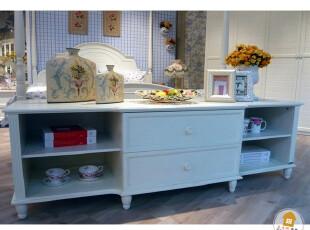 韩式田园家具 白色实木电视柜 现代家具精品系列 电视柜 LE200,收纳柜,
