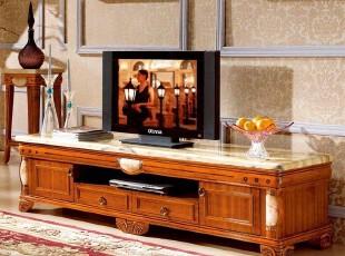 永旭家具 电视柜 实木 经典欧式家具 视听柜 大理石 电视柜 T005,收纳柜,