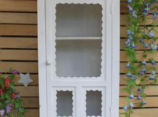 欧式风格 白色柜子 壁挂,收纳柜,