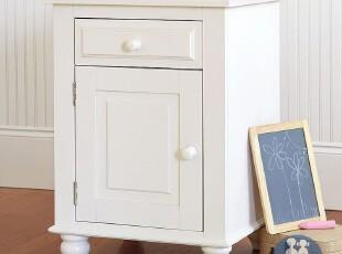 艾伦艾妮菲比 床头柜 储物柜 小床头柜 简约床头柜 美式实木柜,收纳柜,