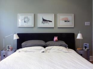 ,现代主义,卧室,