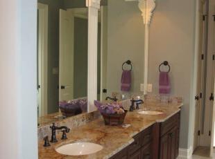 卫生间也能如此浪漫温馨