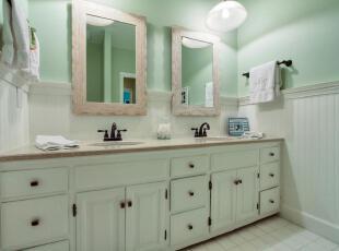 温暖色系的卫浴