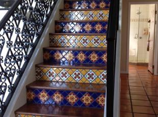 ,热带风情,楼梯,