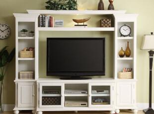 雅居格 简家家具田园风格CA-1349组合电视柜组合 大视听柜类 特价,收纳柜,