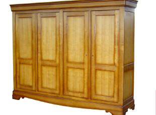 皇家橡树 浪漫巴黎之经典法式四门衣橱  别墅衣柜F9,收纳柜,