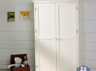 艾伦艾妮安吉拉 儿童衣柜 美式实木衣柜 储物柜 儿童家具 衣橱,收纳柜,