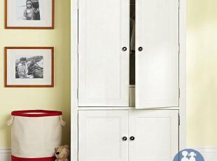 艾伦艾妮昆庭 儿童套房 实木柜 储物柜 简易衣柜 美式儿童衣柜,收纳柜,
