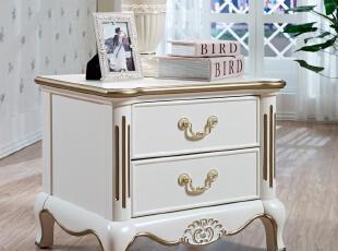 凯撒豪庭 欧式家具 双人床头柜 田园家具 欧式床头柜 包物流/KSHT,收纳柜,