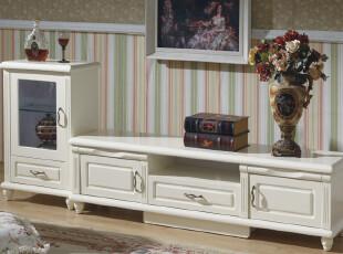 尚享 电视柜现代时尚 田园风格 实木组合 韩式欧式 [电视柜1600],收纳柜,