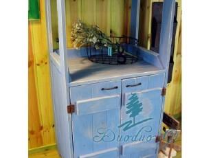 琉璃的光之序曲 森林系怀旧风格 双开门多层餐边柜 【预订】,收纳柜,