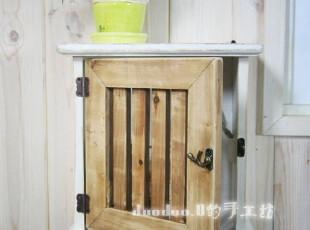 云雀的家 地中海怀旧风格 格栅单开门钥匙柜  置物柜 【预订】,收纳柜,