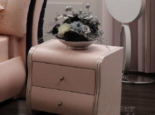 博乐世家 床头柜 皮艺 时尚 宜家 简约 现代 特价 直销 BL-57,收纳柜,