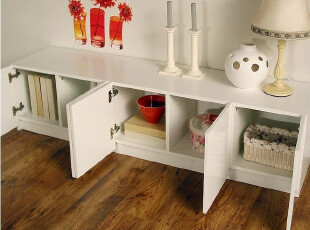 新款电视柜 落地柜 边柜 可储物 矮柜 地柜,收纳柜,