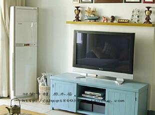 都市仰望乡村 地中海风格电视柜 比邻乡村 美式乡村实木家具,收纳柜,