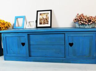 美式乡村 地中海家具 美式家具 地中海电视柜 电视柜 实木家具,收纳柜,